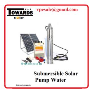 Bomba sumergible solar