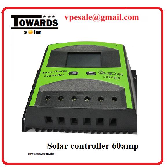 control de carga solar
