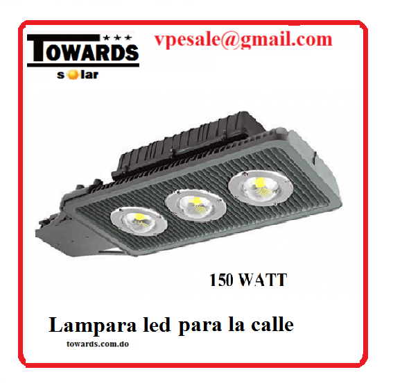 lampara led tipo cobra 100w