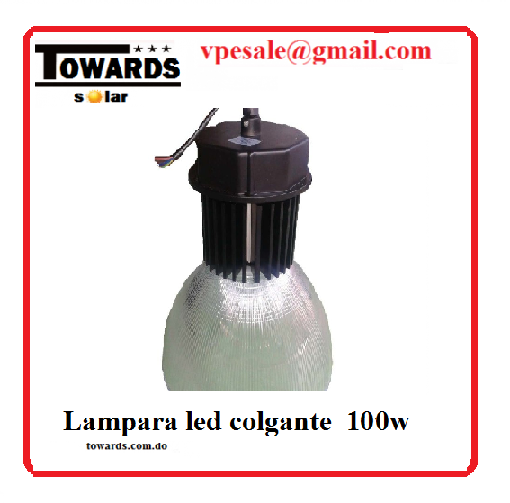 lampara led tipo campana 100w