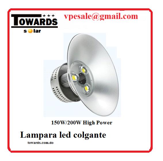 towar lampara led tipo campana 150 w