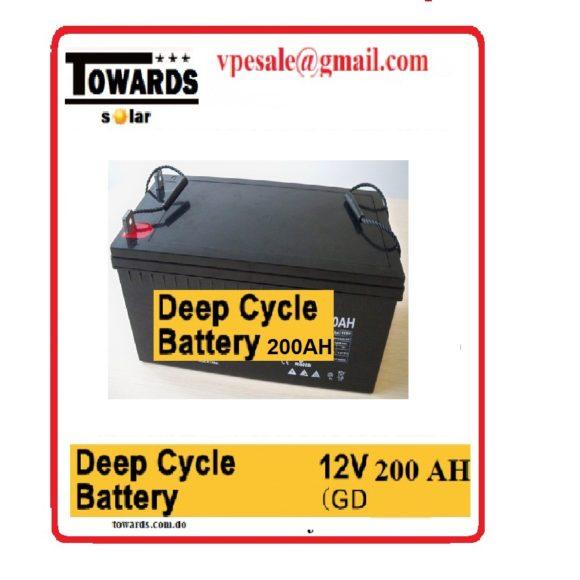 bateria geletina 12v 200a