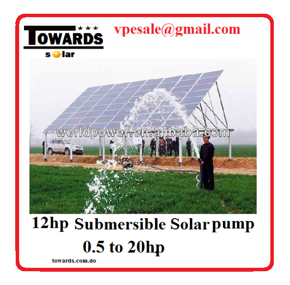 Bomba de agua solar sumergible 2