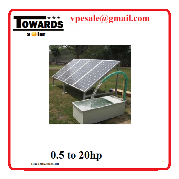 Bomba de agua solar sumergible 3