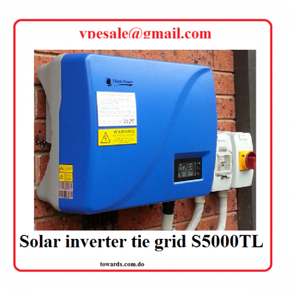 think power S5000TL inversor solar para uso con paneles solares