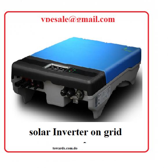 solar inverter on grid