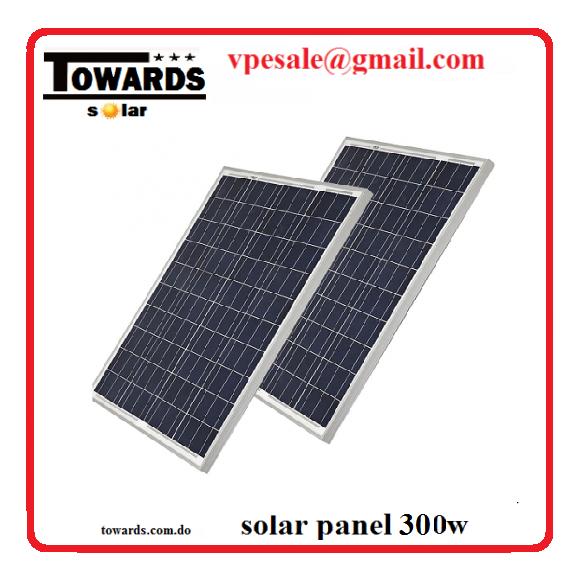 panele solares 300w 25año de garantia
