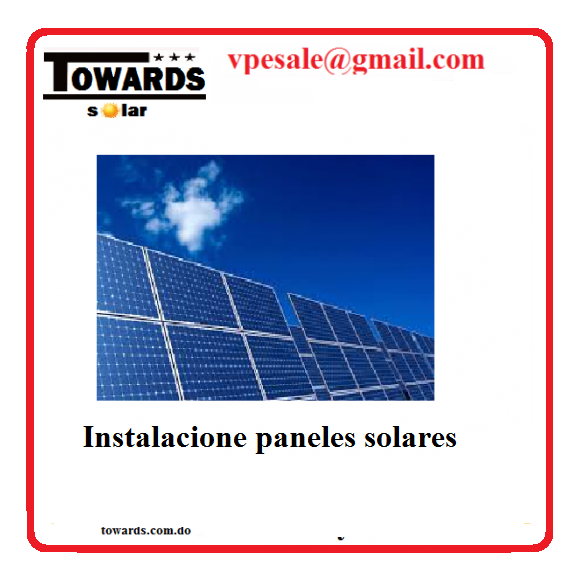 towards paneles solarae fotovoltaico
