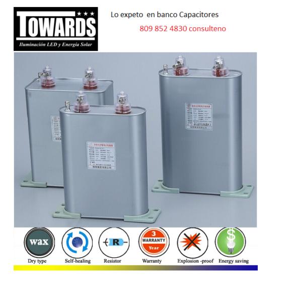 capacitores para corregegir el factor de potencia